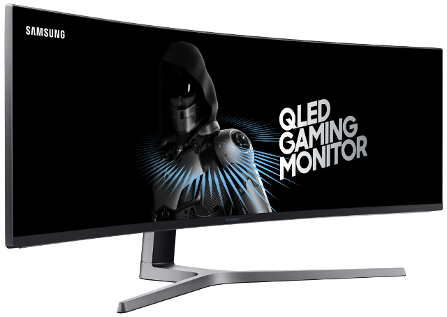 Samsung launches a huge 49-inch ultra-wide gaming monitor