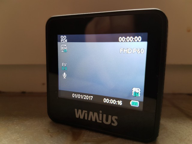 WiMiUS L1 display