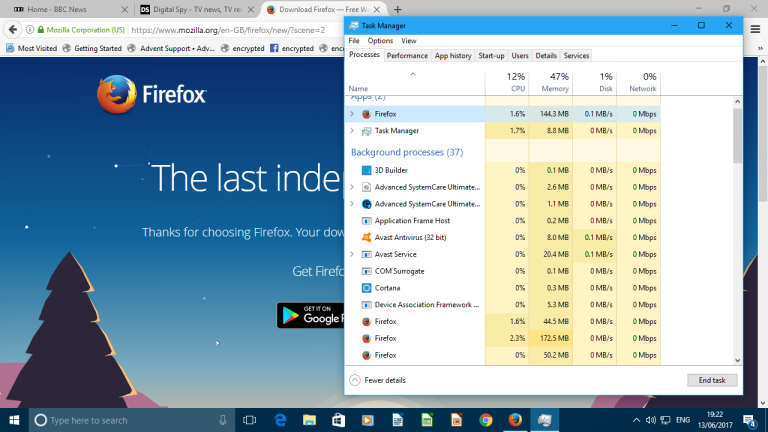 Firefox 54 Promises Faster Performance, Less Memory Usage