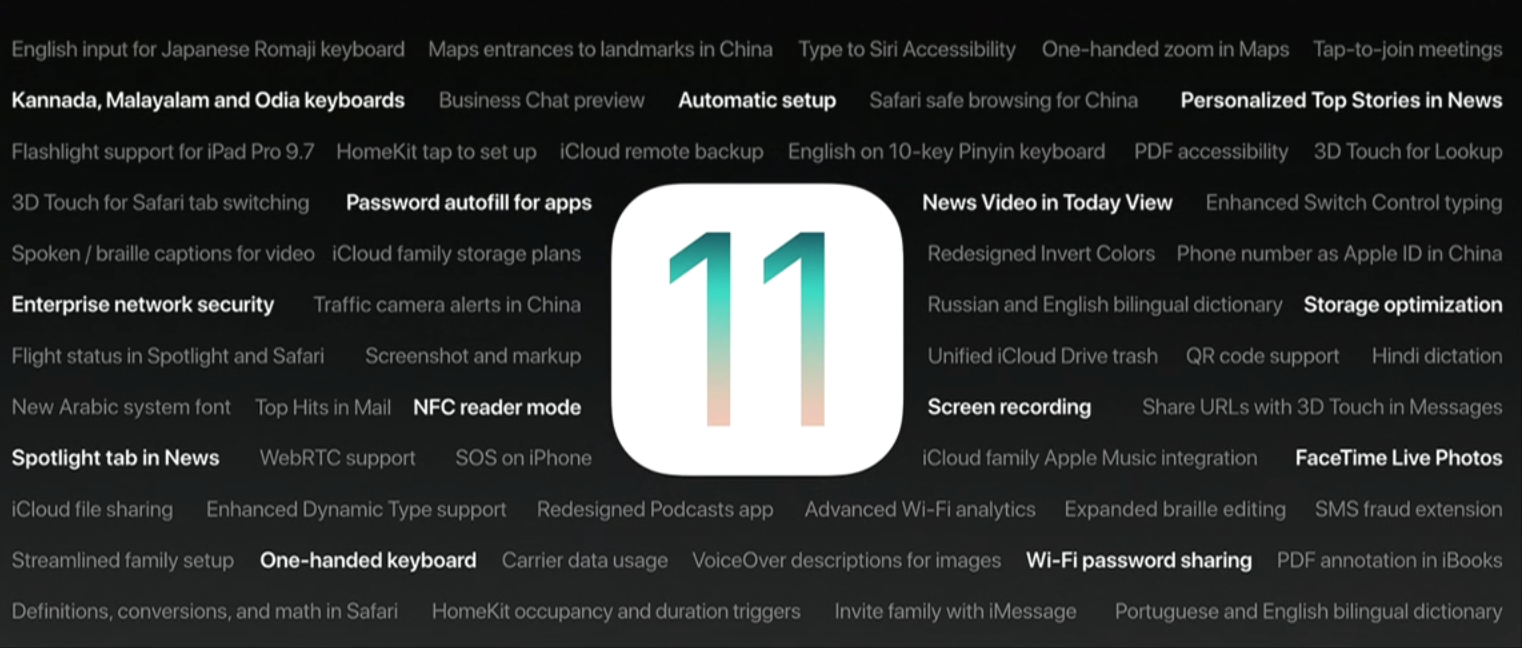 iOS11