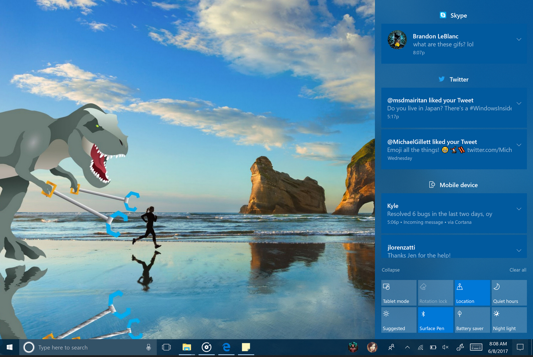 Microsoft Shows Off Big Changes for Windows 10