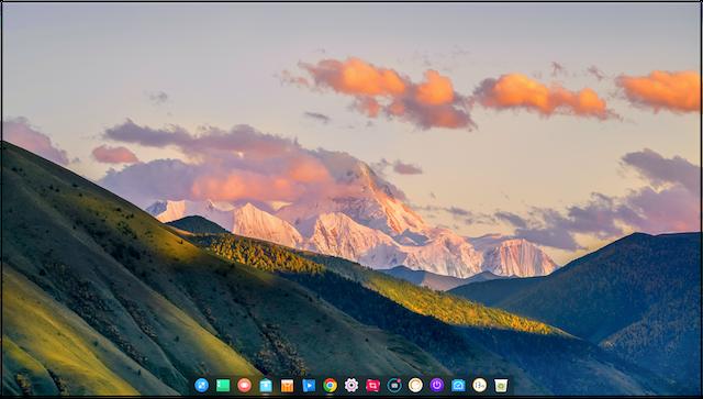 Deepin_Desktop