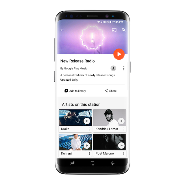 Google Play Music's New Release Radio Station is Now Available to All