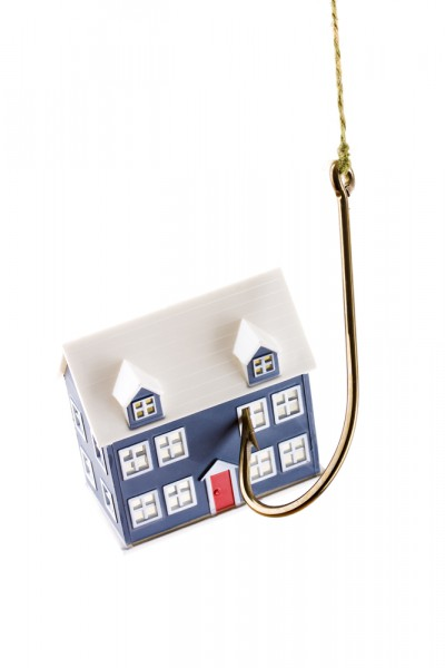 house mortgage phishing hook