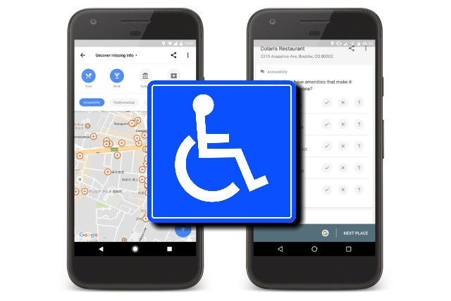 Wheelchair accessibility information in Google Maps improves ... on home maps, online maps, different types of world maps, bing maps, on apple maps, on world maps,