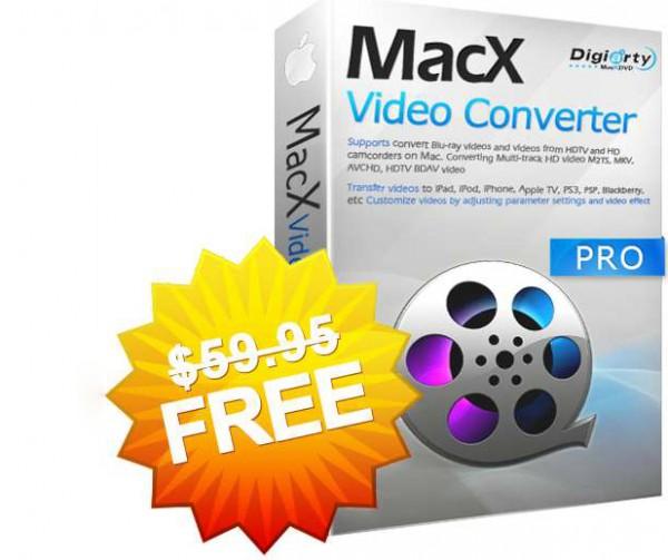 Get MacX Video Converter Pro (Windows & Mac, valued at