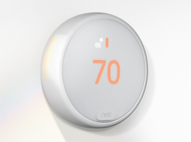 Nest thermostat e is a more affordable way to control your home 39 s temperature - Nest thermostat stylish home temperature control ...