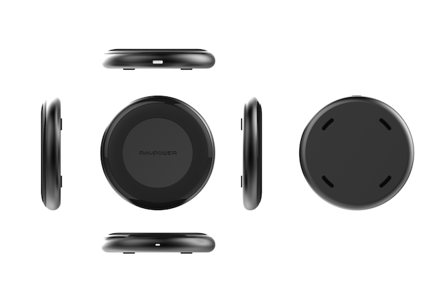 RAVPower Wireless Charging Pad - Different Angles