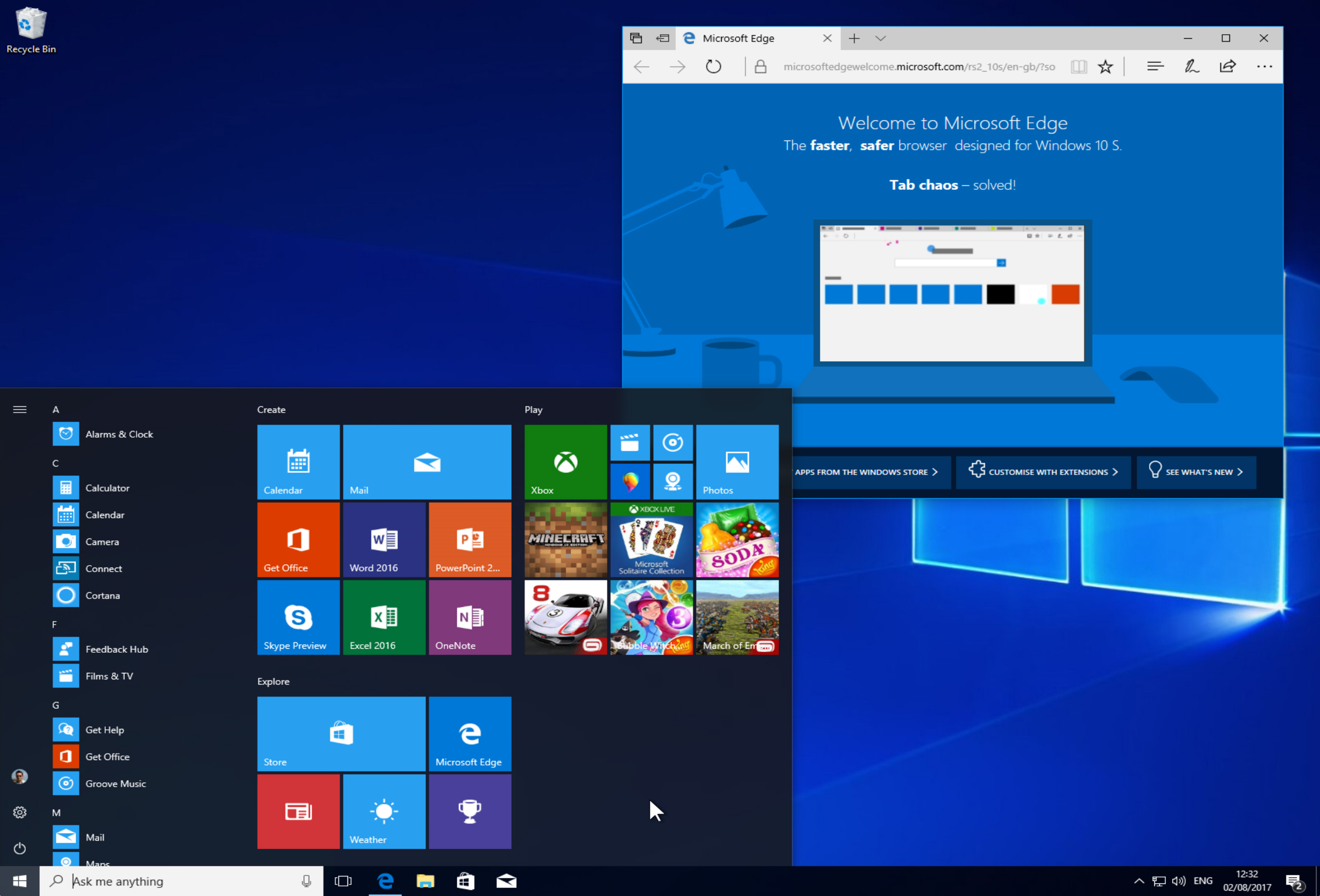 how to download and install windows 10 s