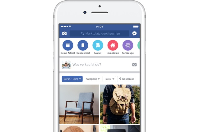 Facebook's Marketplace extends to 17 more countries
