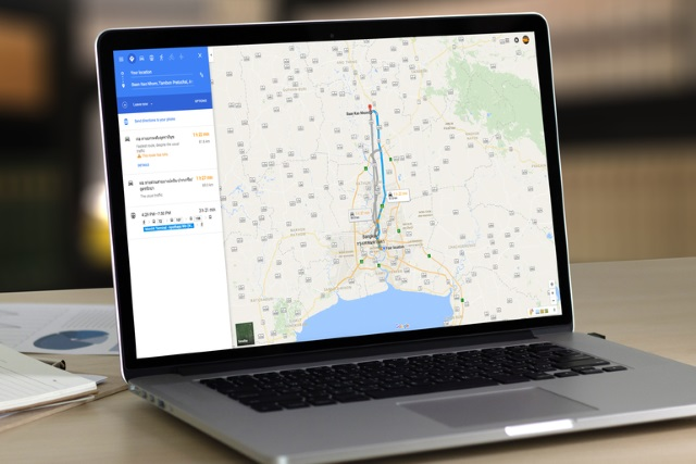 google-maps-laptop