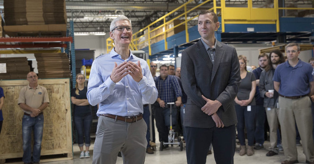 What's Apple CEO Tim Cook doing in Cincinnati?