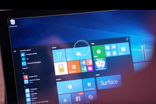 Future Windows 10 will come with eye tracking support