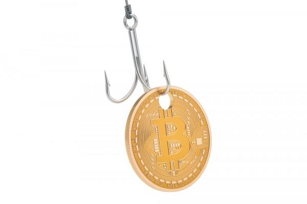 Bitcoin phishing theft
