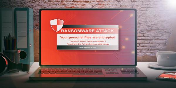 Ransomware laptop