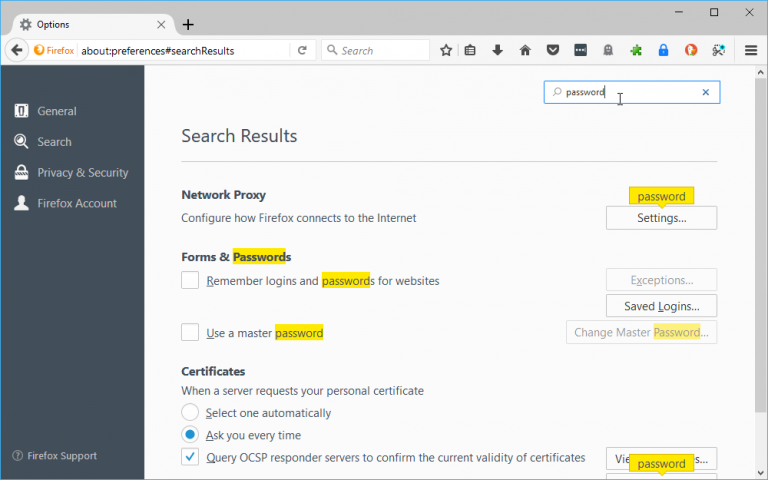Firefox 56 unveils improved preferences, paves the way for