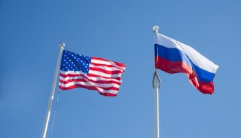 us-russian-flags-flying