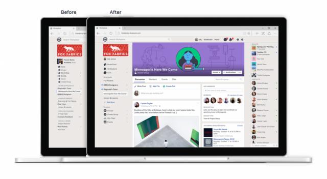 Facebook Workplace Chat desktop