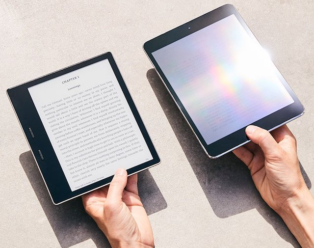Amazon launches waterproof Kindle Oasis