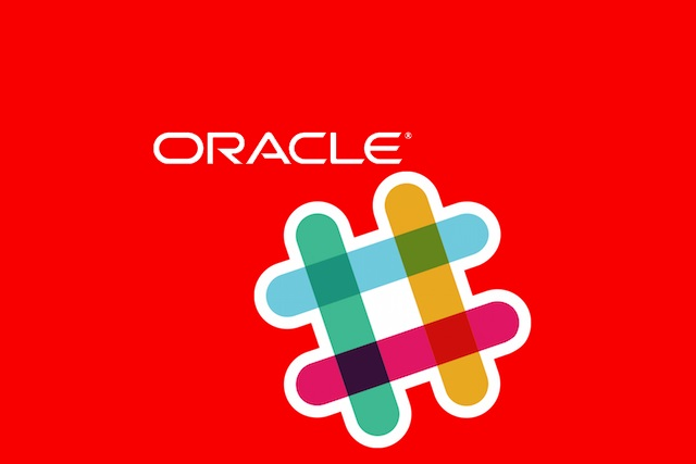 Created at 2017 10 04 0233 darling of the communication and collaboration world slack is partnering with oracle the plan is to integrate oracle enterprise software into the messaging fandeluxe Choice Image