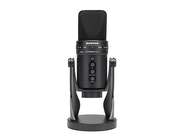 photo image Samson launches G-Track Pro USB microphone for vlogs, podcasts, and more