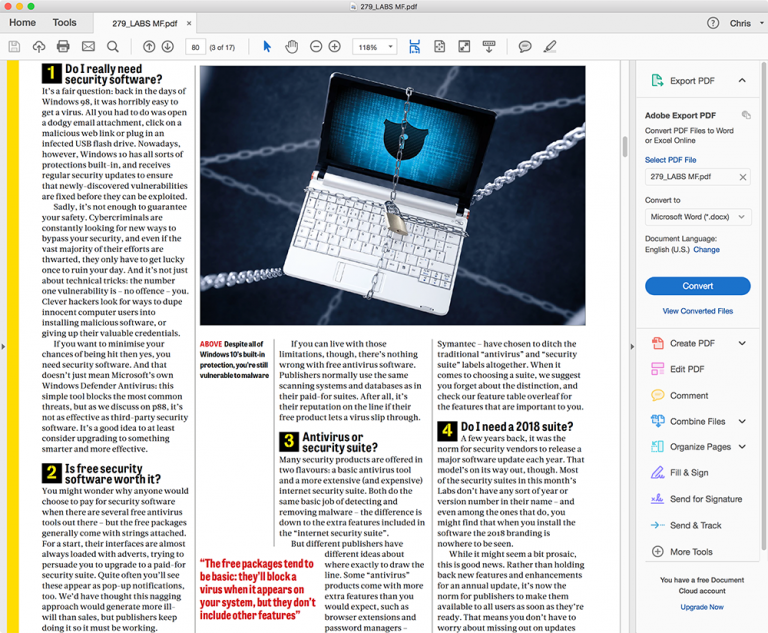 Adobe releases Acrobat Reader 2018 -- Do you still use it? Perhaps