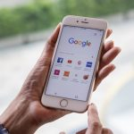 Google on smartphone