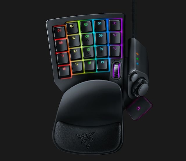 The Tartarus V2 Gaming Keypad Can Be Had Today For 80 Exclusively From Razer Here Naga Trinity Mouse Will Eventually Sold 100