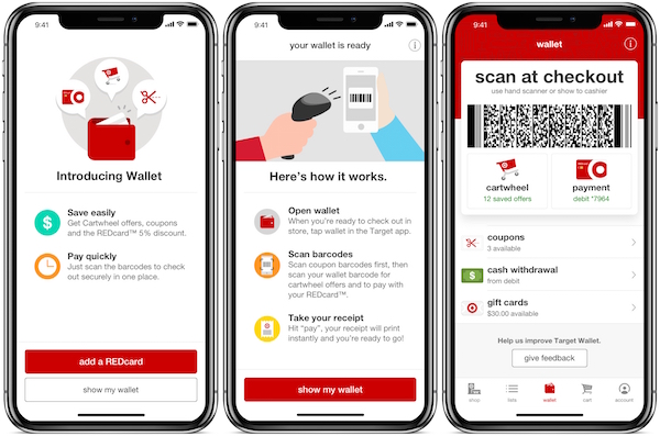 Target launches in-app mobile payments system