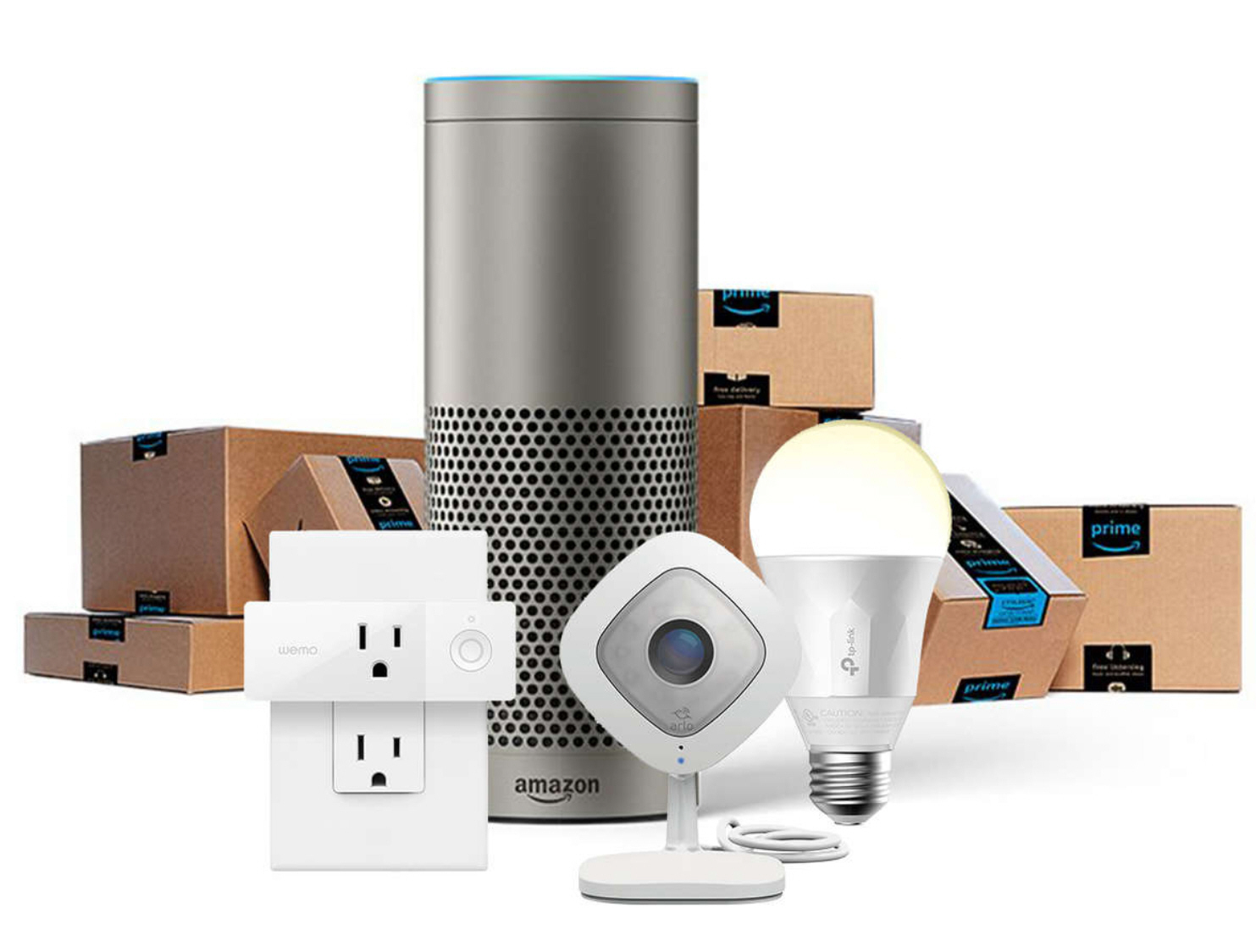enter to win amazon echo smart home bundle sweepstakes. Black Bedroom Furniture Sets. Home Design Ideas