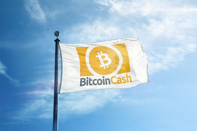 Bitcoin Cash flag