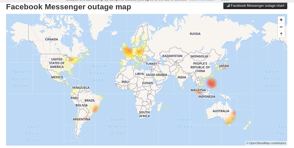 Is Facebook Messenger down? Multiple reports indicate mass outage this Tuesday