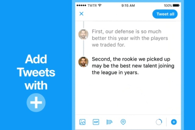 Twitter is about to make creating threads a lot easier