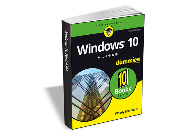 Get Windows 10 All In One For Dummies 2nd Edition 19 Value