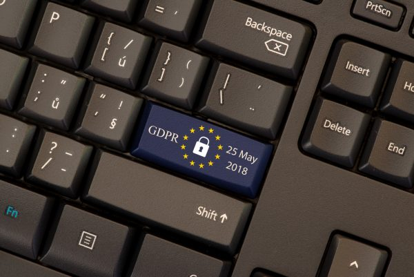 Keyboard with GDPR date