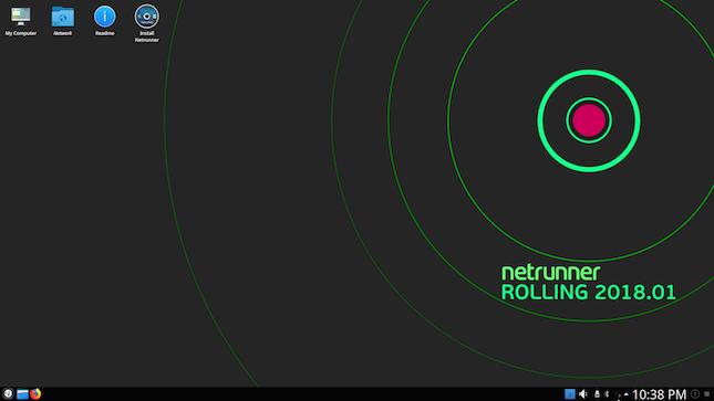 Netrunner Rolling 2018 01 KDE-focused Manjaro Linux-based