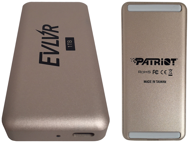 Patriot unveils blazing fast 1TB 'EVLVR' Thunderbolt 3