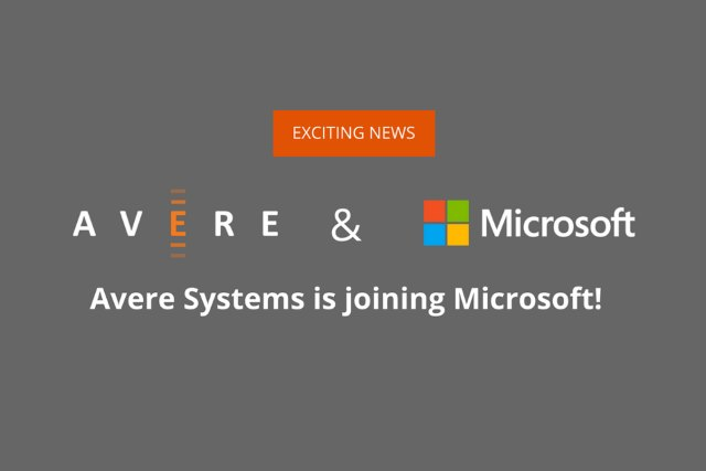 Avere Systems and Microsoft