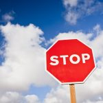 cloud stop sign