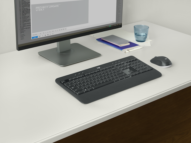 Logitech announces MK540 Advanced Wireless Keyboard and Mouse Combo