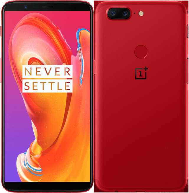 OnePlus 5T in Lava Red arrives just in time for Valentine's Day