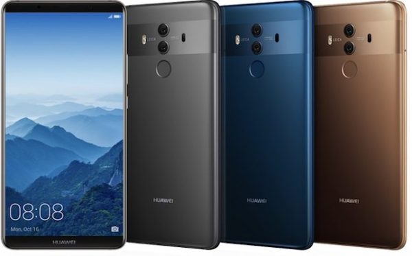 Huawei Mate 10 Pro is up for pre-order in the US