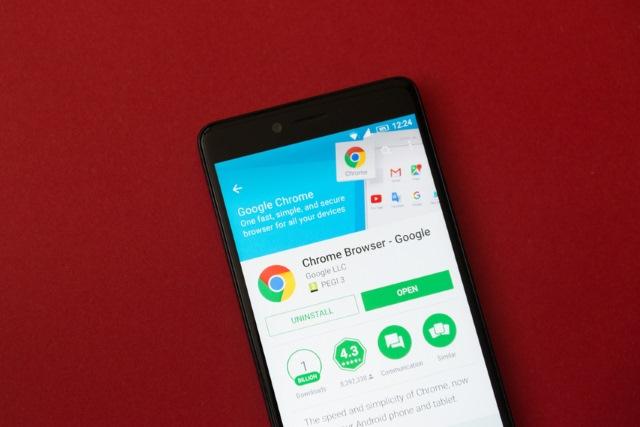 Chrome in Google Play