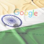 Indian flag and Google