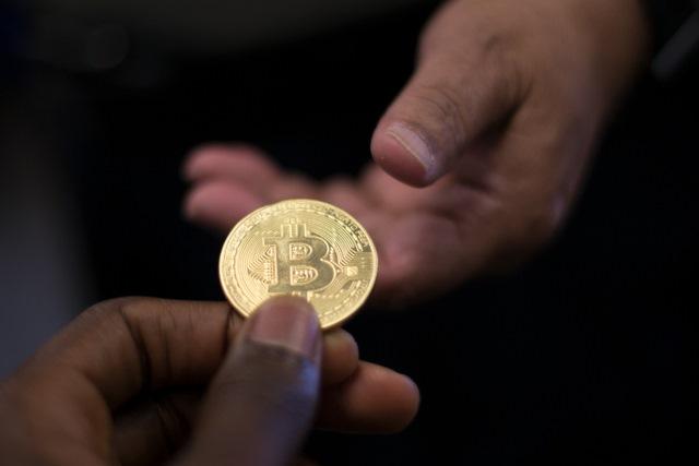 Handing over Bitcoin