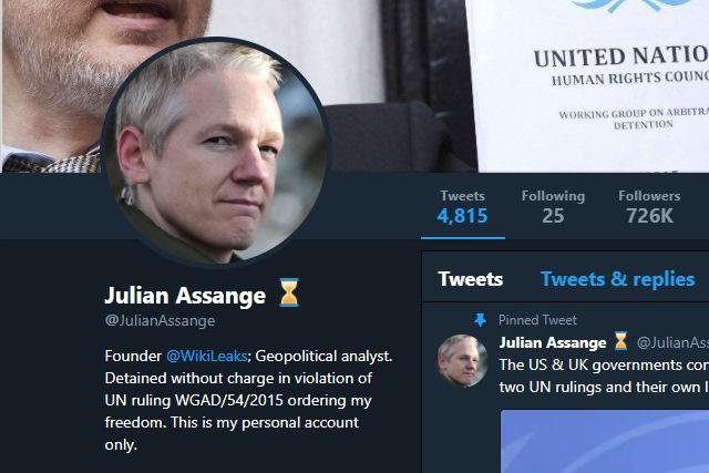 photo image Judge refuses to quash arrest warrant for Julian Assange