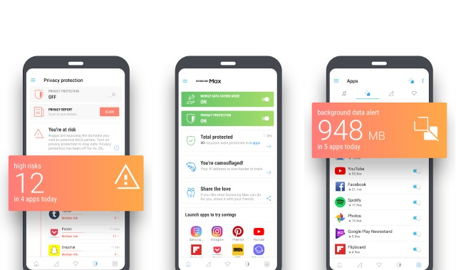 Samsung introduces Samsung Max Android app for data saving and privacy protection