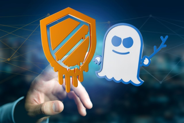 Spectre and Meltdown 3D renders