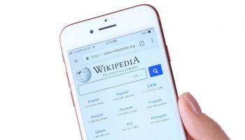 Wikipedia on iPhone