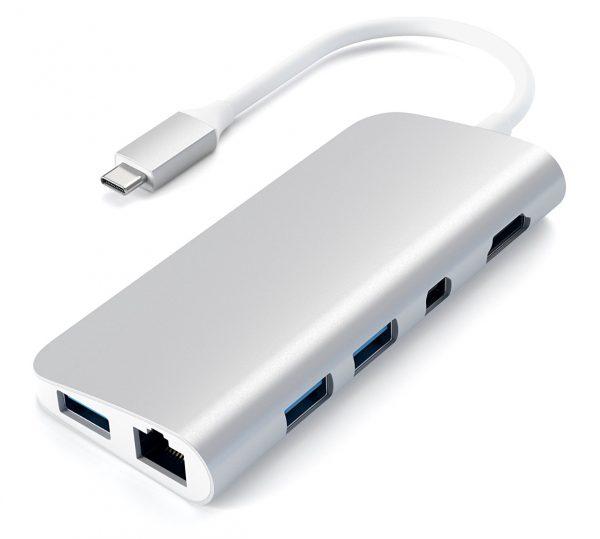 Satechi Launches Aluminum Usb Type C Multimedia Adapter